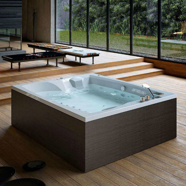 Whirlpool indoor rund  Comfortable Indoor Whirlpool Images - Bathtub for Bathroom Ideas ...