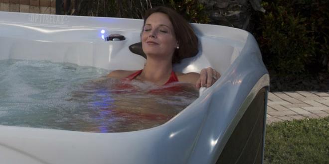 Entspannung im Whirlpool