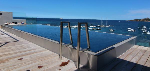 optirelax luxus outdoor edelstahl pool