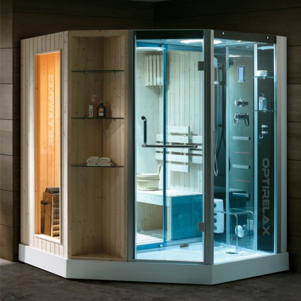 dampfdusche mit sauna relaxmaker galactica optirelax blog. Black Bedroom Furniture Sets. Home Design Ideas