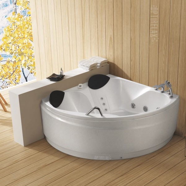eckwhirlpool badewanne opx corner 150 fuer 2 personen optirelax blog. Black Bedroom Furniture Sets. Home Design Ideas