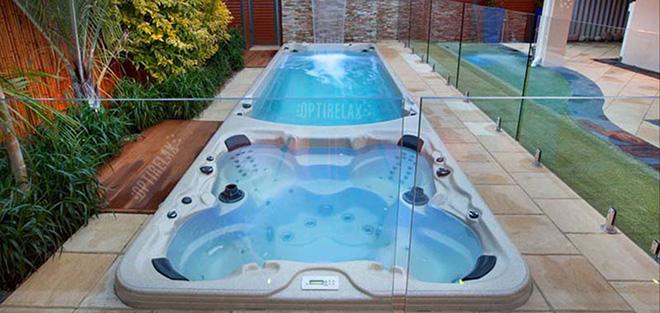 Luxus Swim Spa Pool