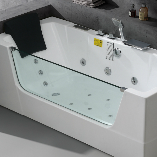 Whirlpool-Badewanne Optirelax-Relaxmaker-Lucent 170