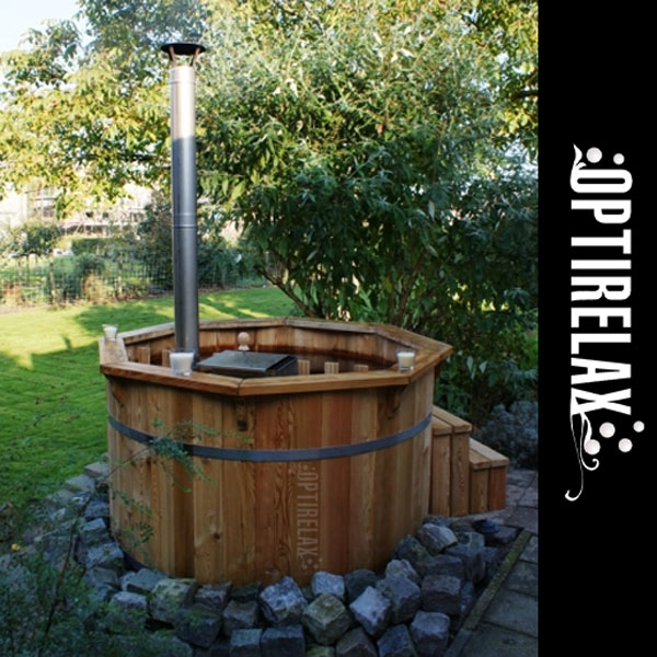 Hot Tub Badezuber Thermoholz VT-I