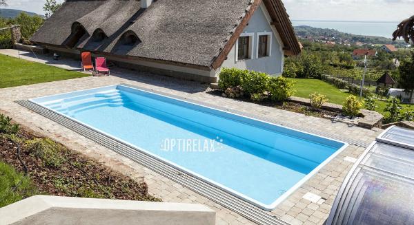 10 Meter Schwimmbecken fuer Terrasse