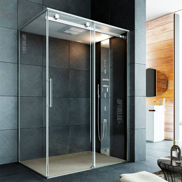 Begehbare Dusche OPX-G Evidente