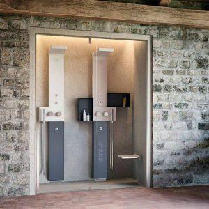 begehbare dusche opx g fetta duo optirelax blog. Black Bedroom Furniture Sets. Home Design Ideas