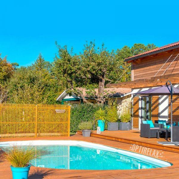 Häufig Terrasse mit Pool - Optirelax Blog LI27