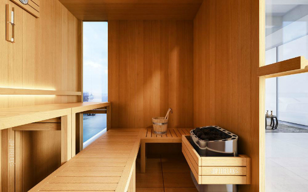 Luxus Sauna GS-OPX ANG I