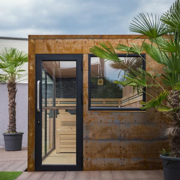 Outdoor Sauna Edelrost II