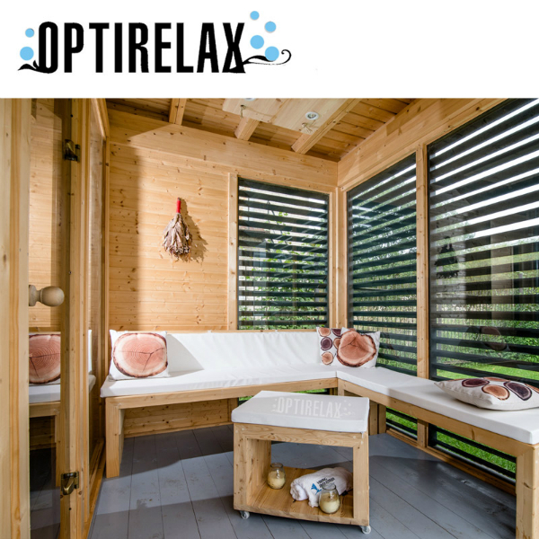 sauna garten haus hot h430 optirelax blog. Black Bedroom Furniture Sets. Home Design Ideas