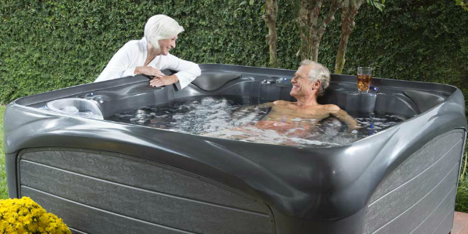 Whirlpool im Garten - Optirelax Blog
