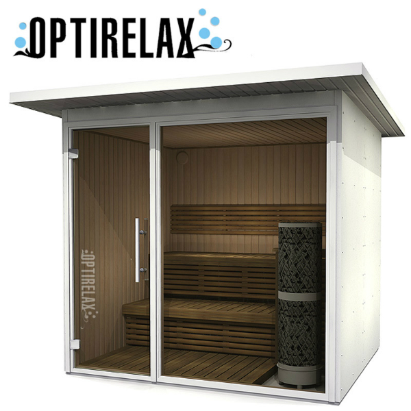 design saunahaus im garten optirelax view optirelax blog. Black Bedroom Furniture Sets. Home Design Ideas