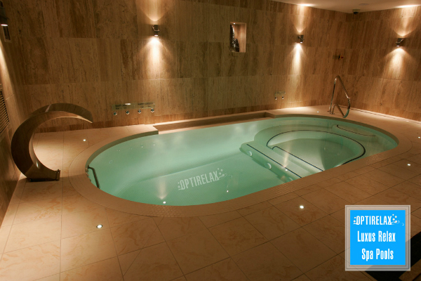 Indoor Pool Luxus Spa-Swimming-Pool Optirelax LUX RLS
