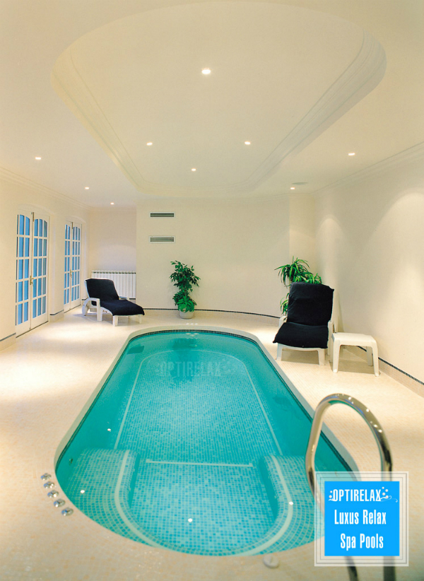 Indoor Pool Luxus Swimming-Spa Pool Optirelax LUX RLX