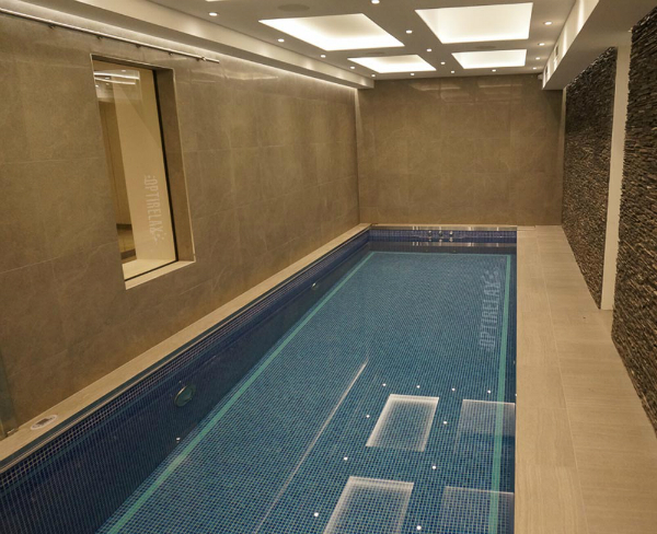 Indoor Pool Luxus Swimming-Spapoool Optirelax LUX QLX3