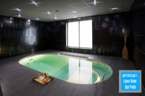 Indoor Pool individueller Spa Pool Optirelax LUX IND
