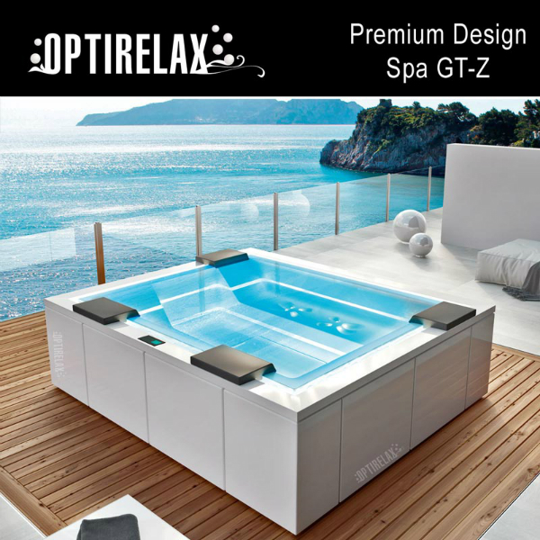 Luxus Design Spa-Whirlpool im Sommer GT-Z