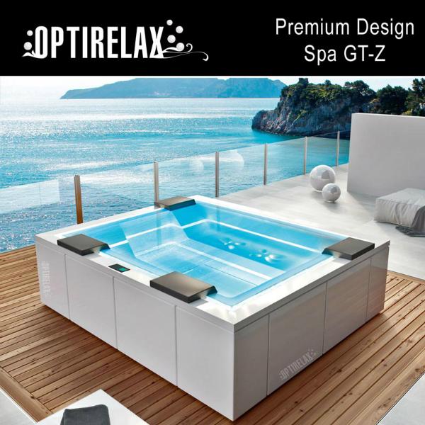 Luxus Design Spa-Whirlpool im Sommer GT-Z