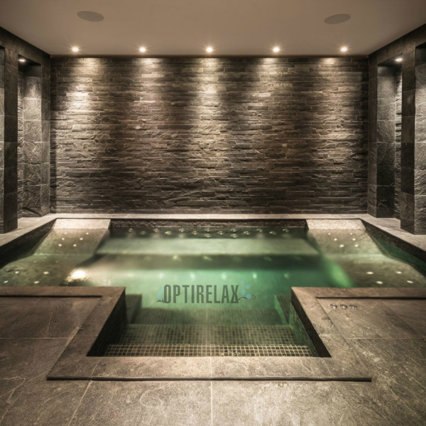 Luxus Pool LUX-I-XL Spa Becken von Optirelax