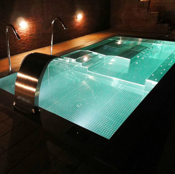 Luxus Pool Steelrelax EL2 Spa Whirlpool Becken