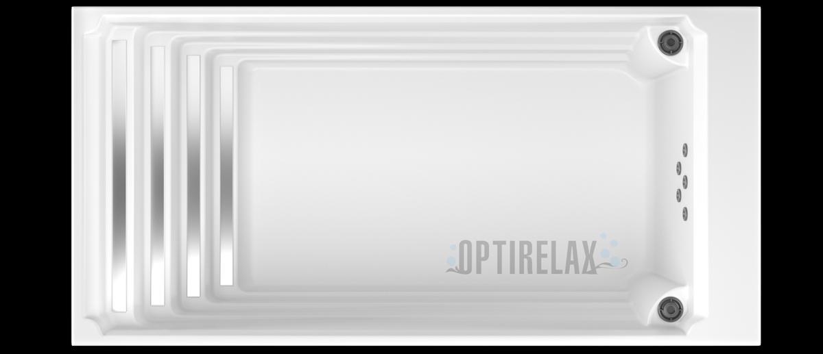 Swimming Pool mit Gegenstromanlage - Swimspa Pool OPTIRELAX® Cleverswim