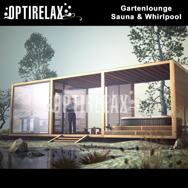 Relaxlounge mit Sauna und Whirlpool LUX XIII