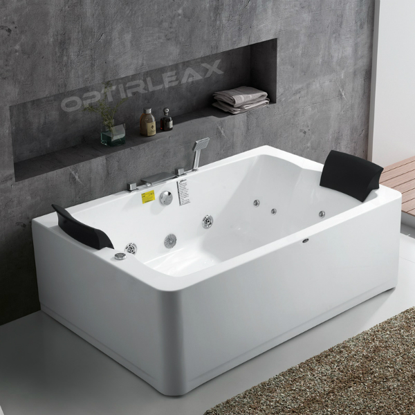 Whirlpoolwanne Optirelax-RLX-2-straight ECO fuer zwei Personen