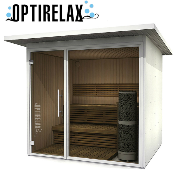 Design Gartensauna Optirelax VIEW