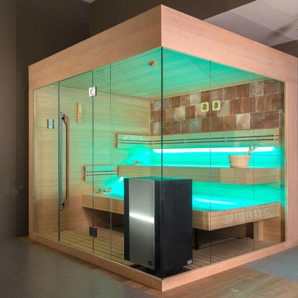 luxus sauna ind els optirelax blog. Black Bedroom Furniture Sets. Home Design Ideas
