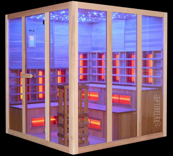 Sauna Optirelax Soelden mit Aufguss und Infrarot