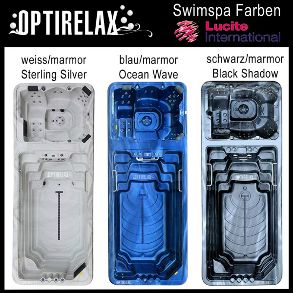 Swim Spa Optiswim Supreme Duo mit zwei Wasserzonen