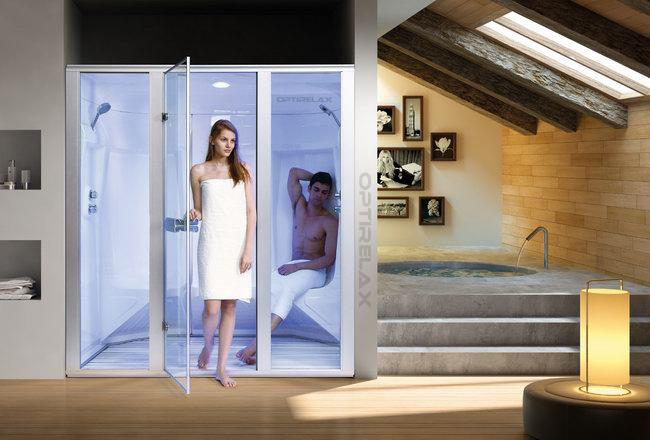 dampfduschen f r 2 personen optirelax blog. Black Bedroom Furniture Sets. Home Design Ideas