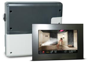 Luxus Dampfsaunasteuerung Touch