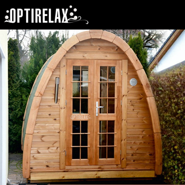 Gartensauna OPTIRELAX Drop HTD-D1