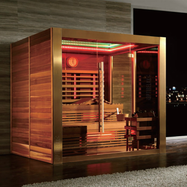 kombisauna mit infrarot optirelax blog. Black Bedroom Furniture Sets. Home Design Ideas