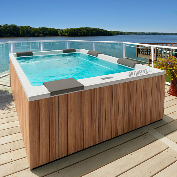 luxus design whirlpool auf dem balkon gt spa ma260 optirelax blog. Black Bedroom Furniture Sets. Home Design Ideas