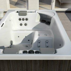 Mini Spa Whirlpool auf dem Balkon TC-Spa S - Optirelax Blog