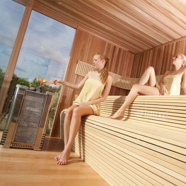 Optirelax VIP Gartensauna Deluxe