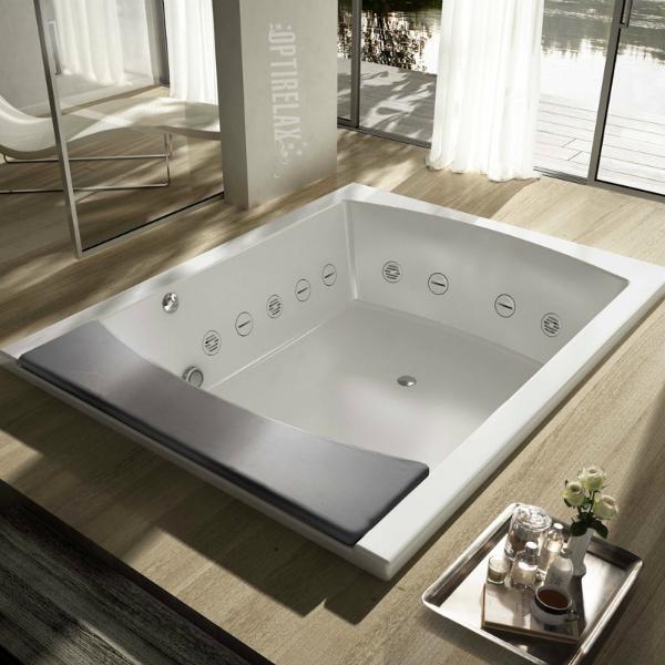 Premium Whirlpoolwanne im Wohnzimmer TC-SE190