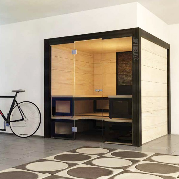 Sauna mit Glasfront H-SD-I