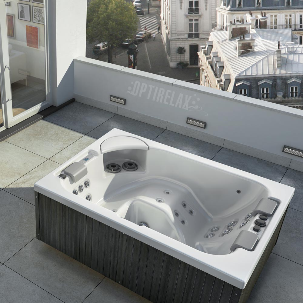 whirlpool auf dem balkon optirelax blog. Black Bedroom Furniture Sets. Home Design Ideas