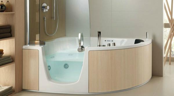 eckbadewanne mit dusche optirelax blog. Black Bedroom Furniture Sets. Home Design Ideas