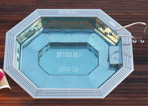 Spa Edelstahl Whirlpool Steelrelax ER1