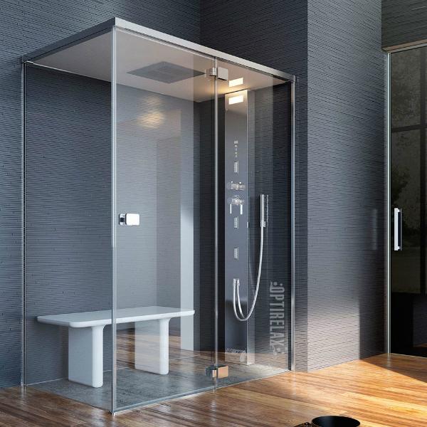 dampfdusche opx g bella e optirelax blog. Black Bedroom Furniture Sets. Home Design Ideas