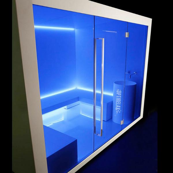 Design-Sauna OPX-CM D2 Dampfbad