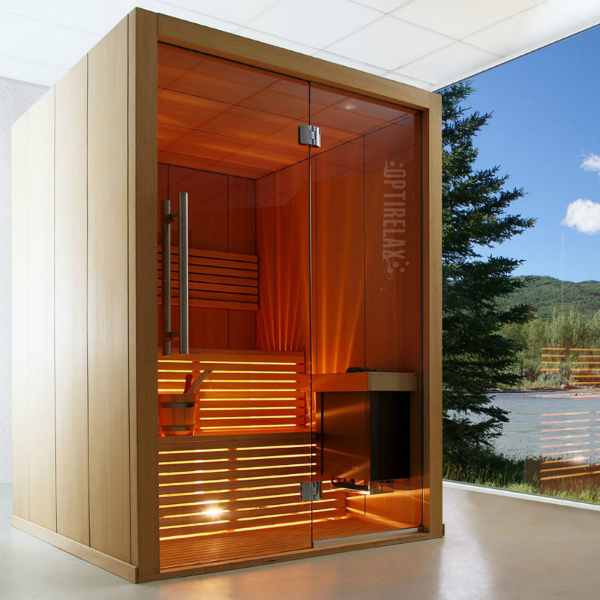 Design Sauna OPX-CM S3 optionales Soundsystem mit MP3 Bluetooth und FM-Radiosystem