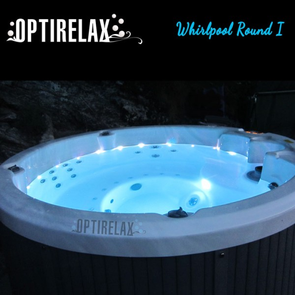 Runder Whirlpool Round I von Optirelax