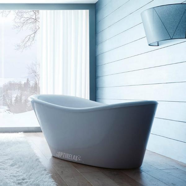 Freistehende Badewanne GT-B-FNI weiss