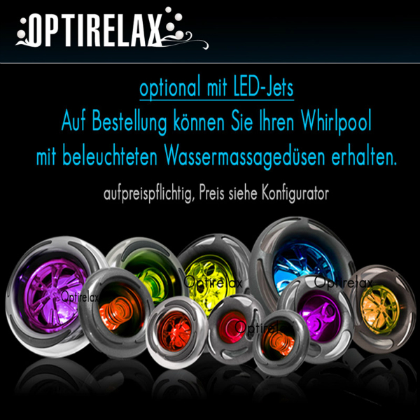 LED Wassermassageduesen